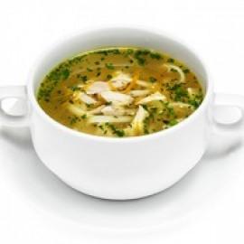 Куриный суп с пастой