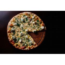 """Пицца """"С сыром Фета,салями и зеленью"""""""